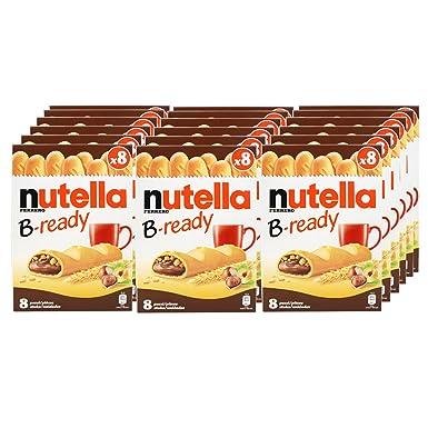 16x Ferrero Nutella B Ready Breakfast Bars 8 Pieces Amazon Co