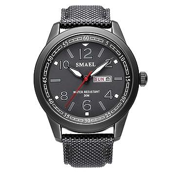 Blisfille Reloj Acero Calavera Reloj Hombre Oferta Flash Reloj Deporte Agua Reloj Deporte Intervalos Relojes Automaticos