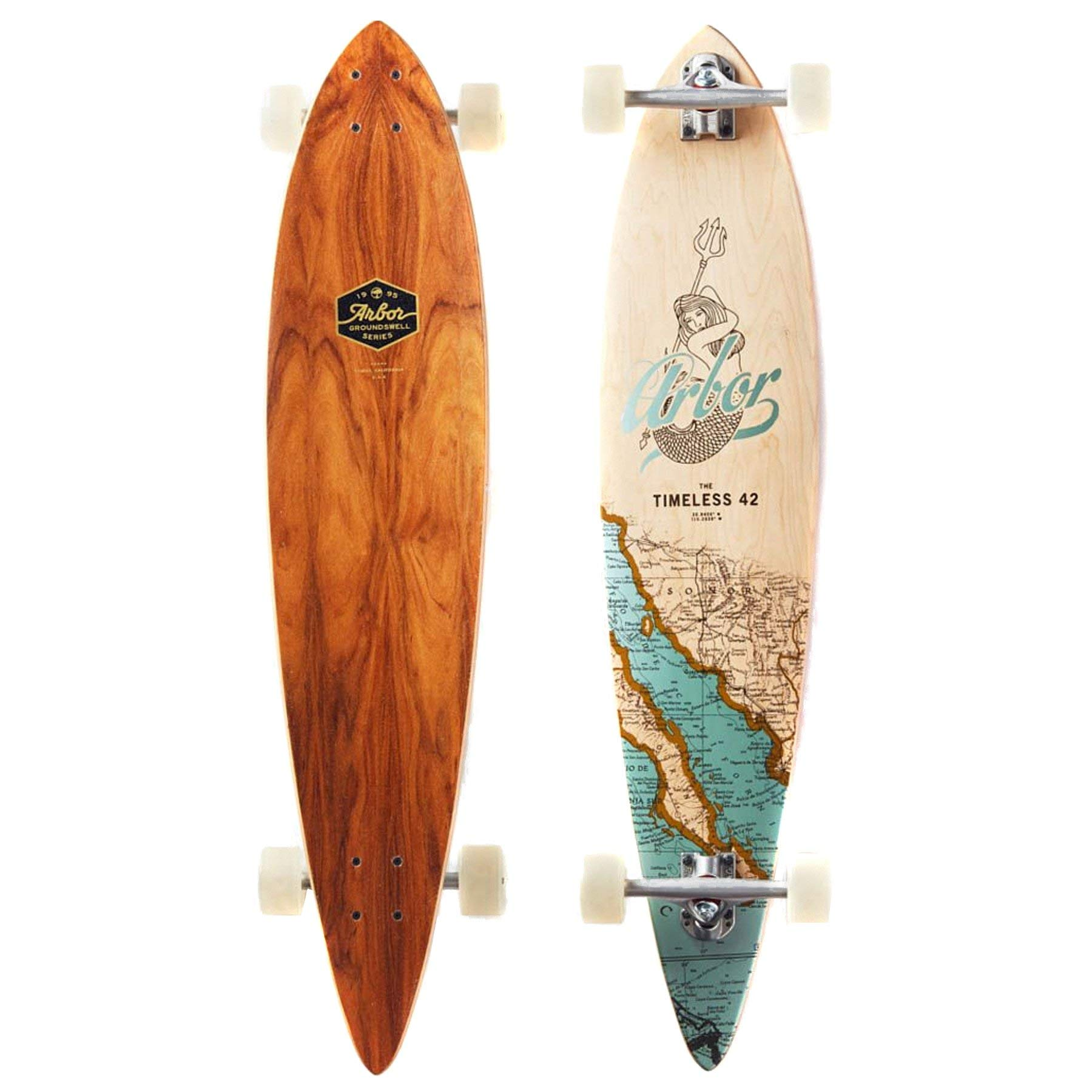 "Arbor Timeless 42 Groundswell Complete Skateboard, Assorted, 42"" L x 9.00"" W"