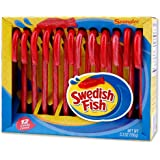 Fancy pickle flavored candy canes 3 8 oz for Swedish fish candy canes