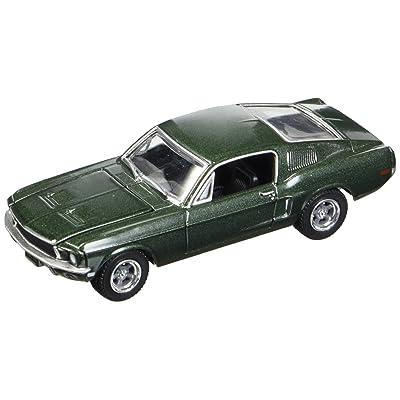 Greenlight 1: 64 Steve McQueen Bullitt 1968 Ford Mustang GT 44721: Toys & Games