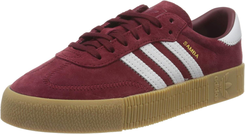 Folleto Acurrucarse visitar  adidas F36268_39 1/3, Women's Low-Top Sneakers, Burgundy, 6 UK (39 1/3 EU):  Amazon.co.uk: Shoes & Bags