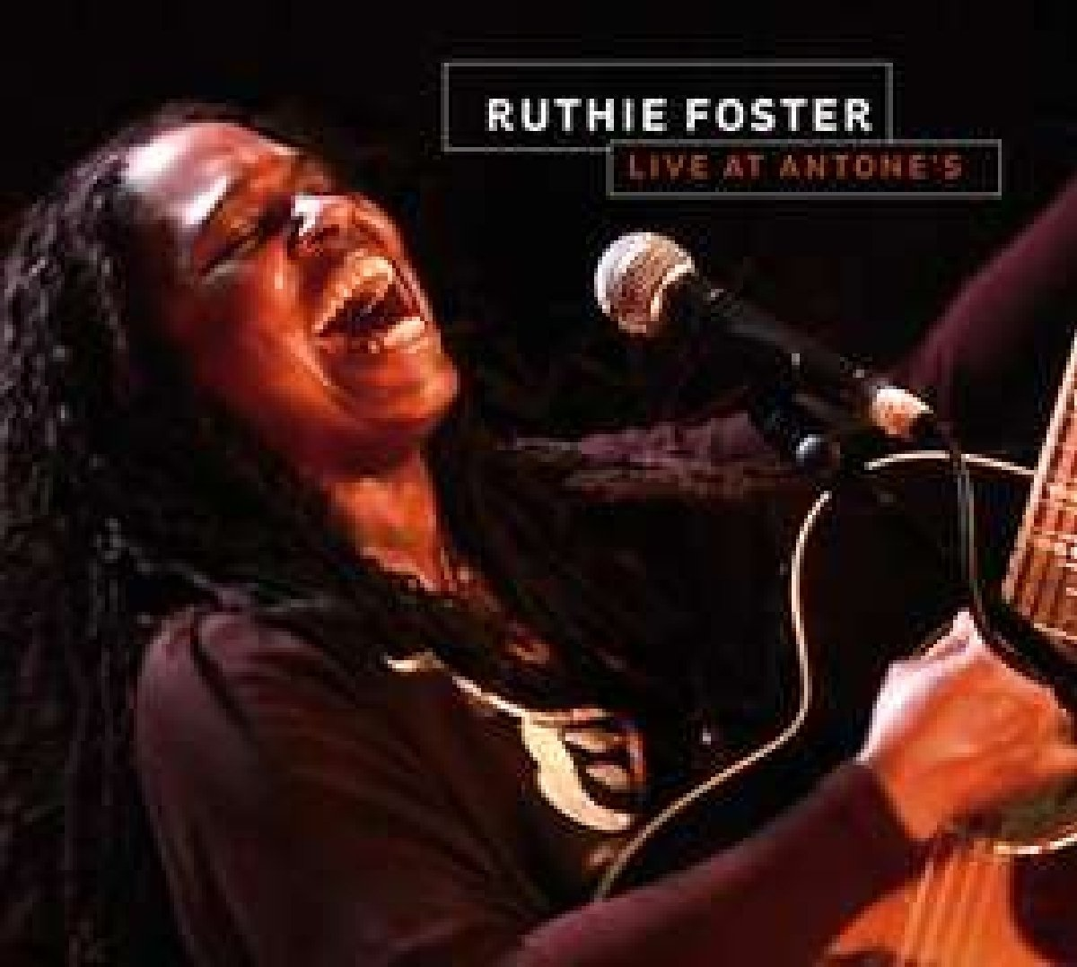 Ruthie Foster Live at Antones (w/bonus DVD) by Foster, Ruthie