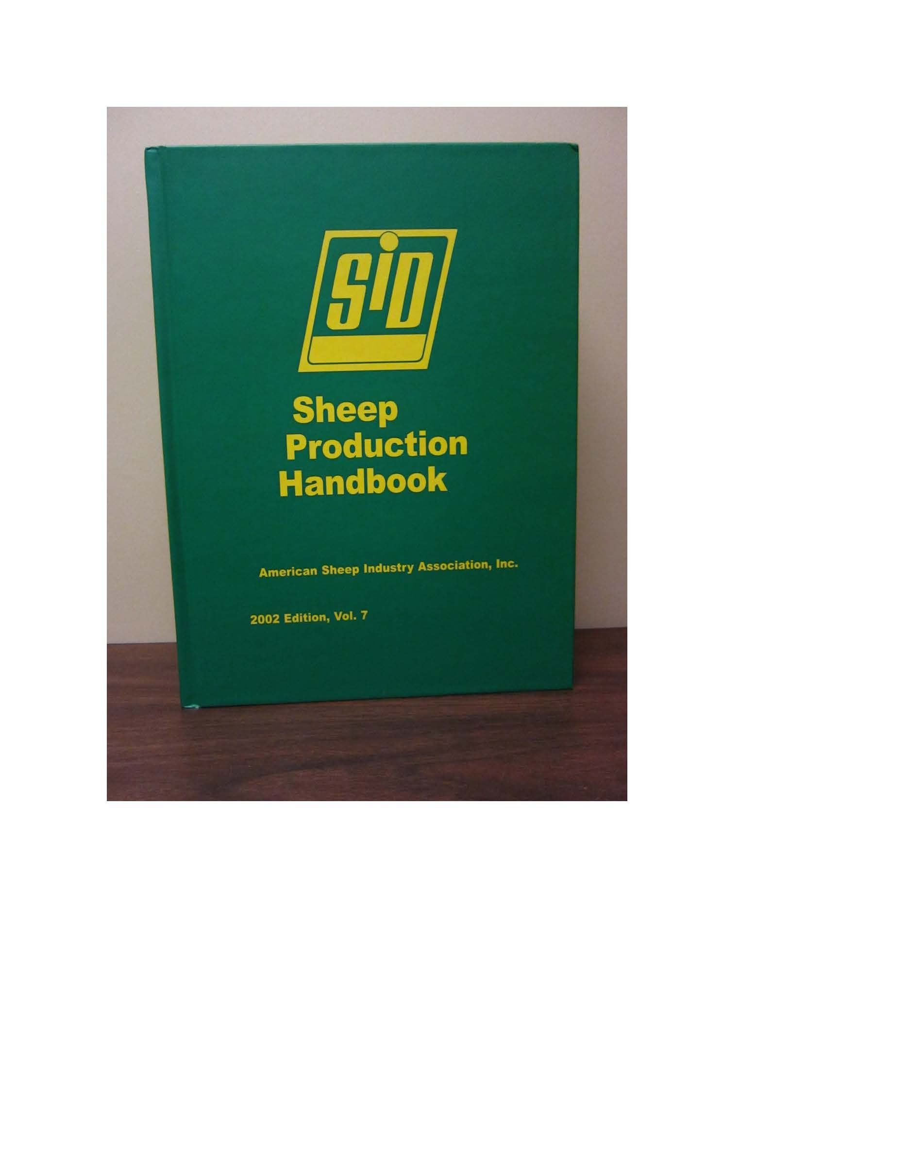 Download SHEEP PRODUCTION HANDBOOK-W/CD PDF