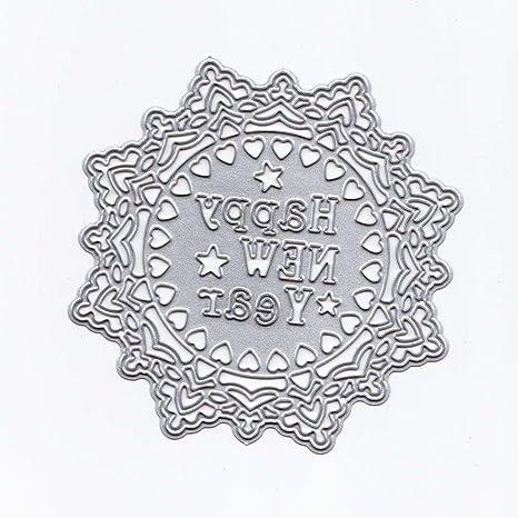 Metal Cutting Dies Stencils For DIY Scrapbooking Photo Album Paper Card Gift