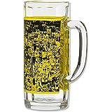 Borussia Dortmund Glas / Bierglas / Bierhumpen / Bierseidel / Bierkrug Südtribünen BVB 09