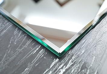 Wandspiegel kristall spiegel cm steilfacette amazon