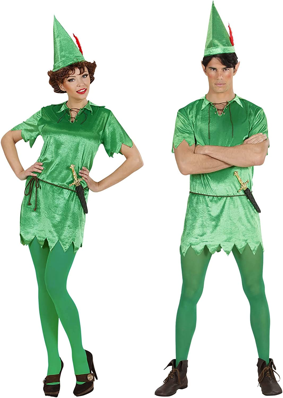 WIDMANN Sancto Disfraz de Peter Pan para hombres, talla M (SA-76462)