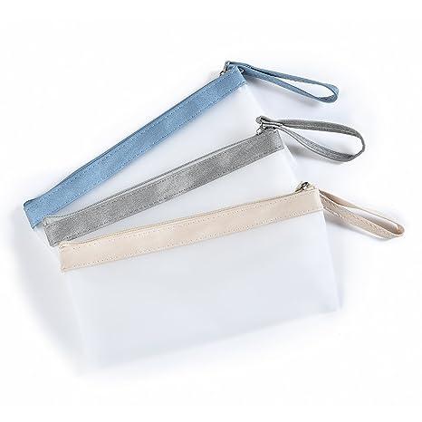 Amazon.com: Wristlet estuche papelería bolsa bolsa bolsa de ...