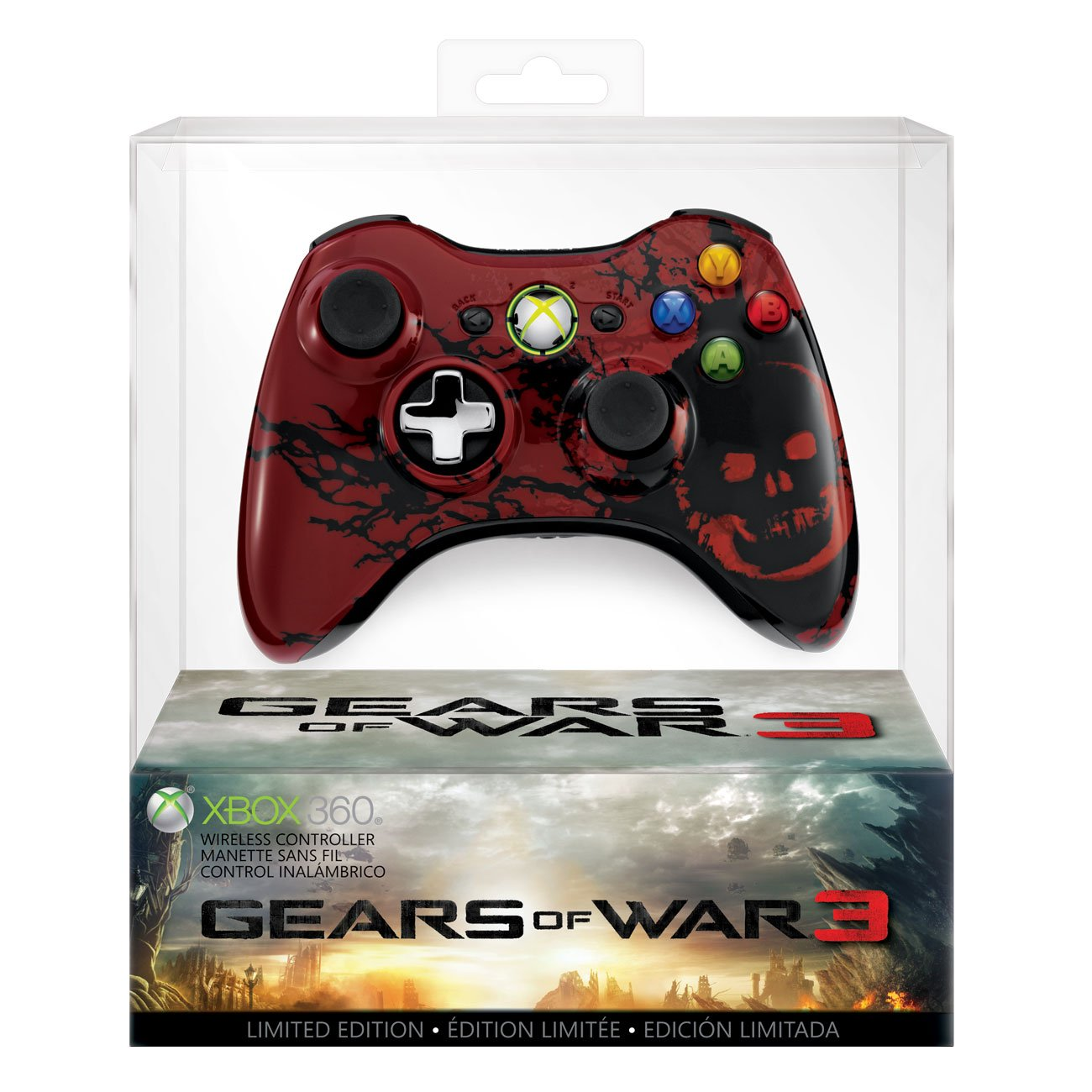 Gears of War 3 Controller - Xbox 360 (Special)