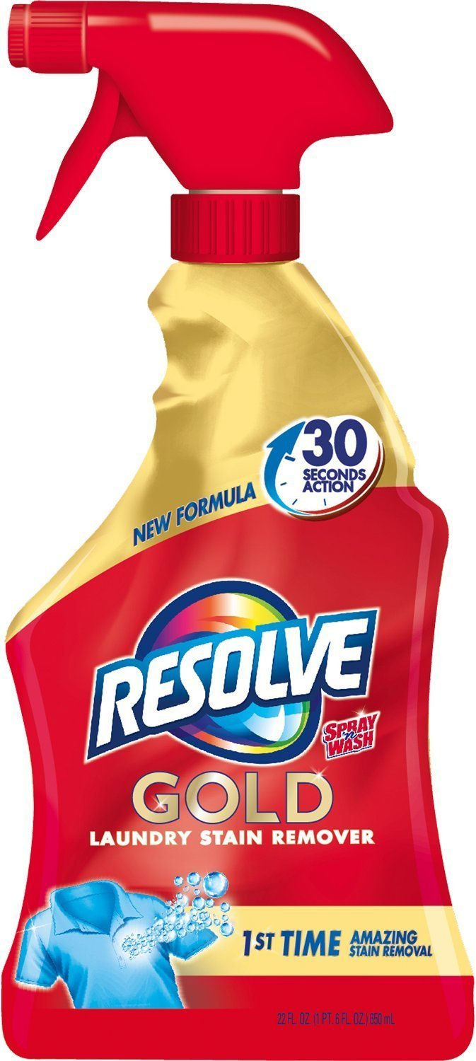 Resolve Gold Laundry Stain Remover, 22 Fl Oz - Pack Of 2