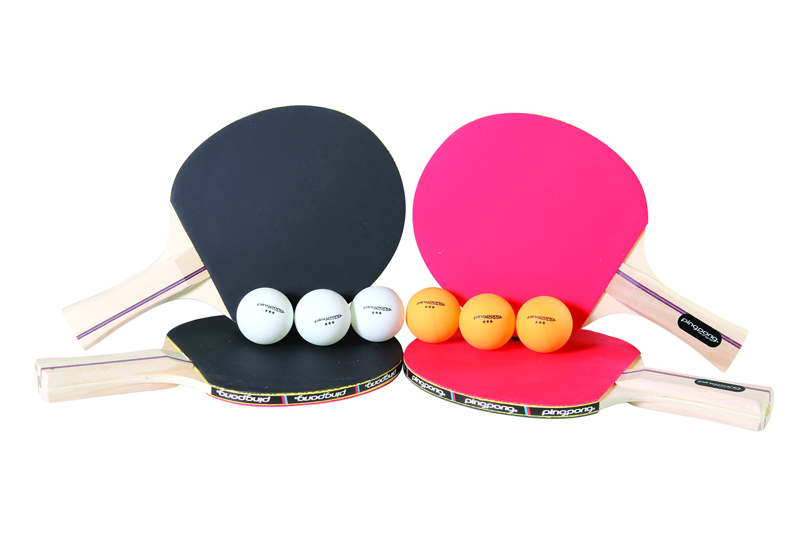 Ping Pong Performance Four Player Table Tennis Set