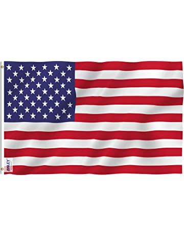 Anley Fly Breeze 3x5 Foot American US Polyester Flag - Vivid Color and UV  Fade Resistant 7287b9706ae