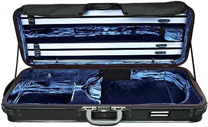 Gewa Estuches para Viola, Strato De Luxe - Black/Dark Blue: Amazon.es: Instrumentos musicales