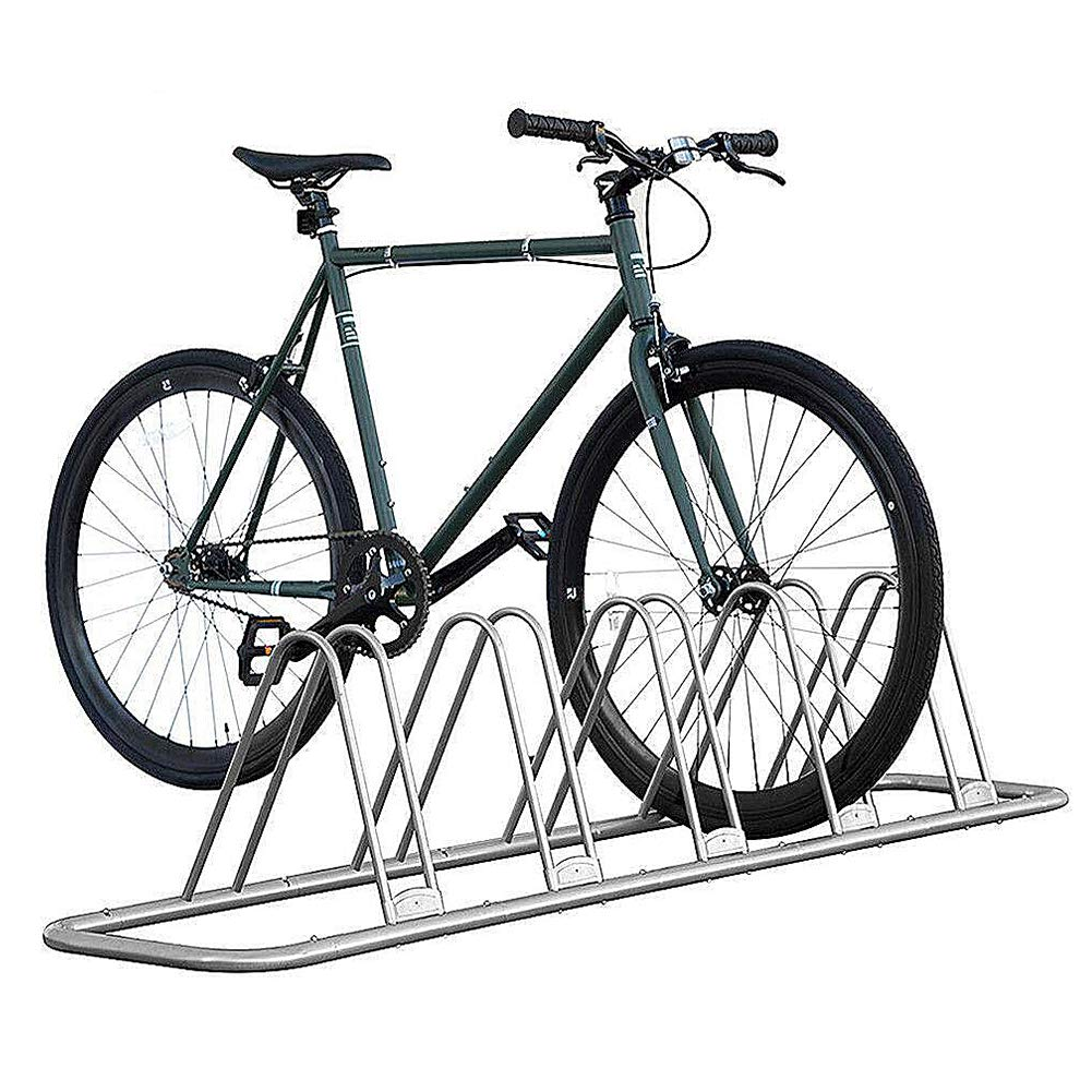 IKURAM 1-5 Bike Floor Parking Rack Storage Stand Adjustable Bike Frame Park