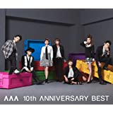 AAA 10th ANNIVERSARY BEST(ALBUM2枚組+DVD)