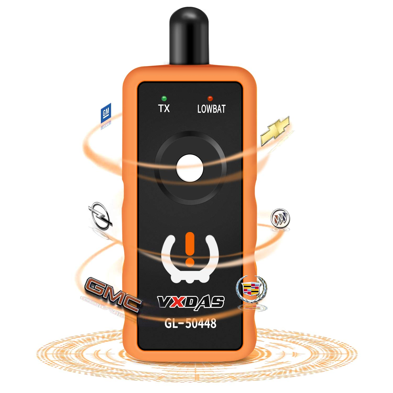 Arozk GL50448 for GM Series Vehicles Tire Pressure Monitor Sensor Tire Pressure Sensor Reset Tool TPMS Relearn Tool