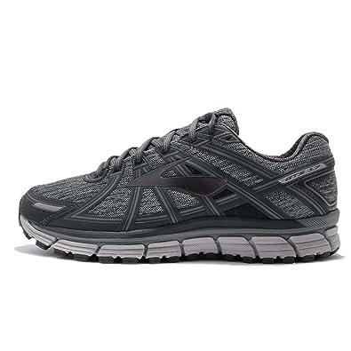cd177ddd6ba94 Brooks Adrenaline GTS 17 Heather/Anthracite/Primer Grey Mens Running Shoes