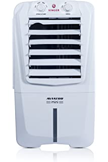 Singer Aviator Mini STC 010 AWE 10 Litre Personal Room Cooler  White  Air Coolers