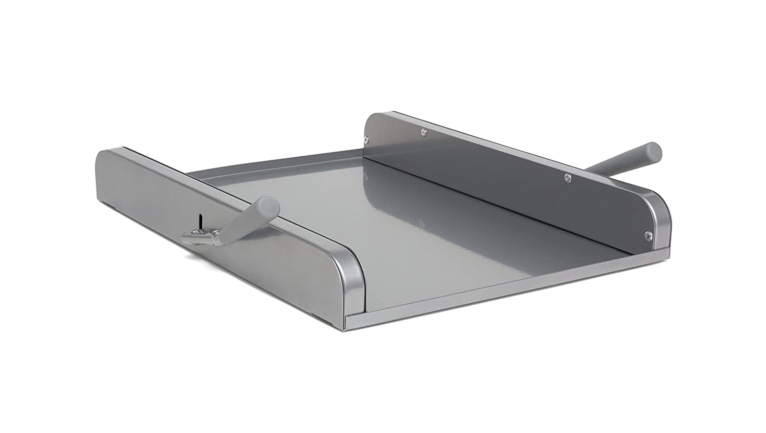 "Lipper International 8701G Rolling Platform for Mixers and Appliances, 15-3/4"" x 11-7/8"" x 2-1/8"", Grey"