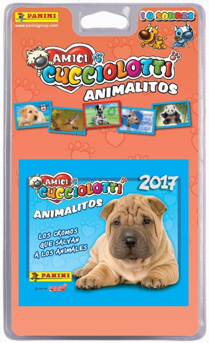 Panini - Amici Cucciolotti, Blister, 10 Sobres animalitos 2017 (003217BLIE): Amazon.es: Juguetes y juegos