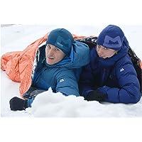 Mountain Equipment Erwachsene Biwacksack Ultralight Bivi Double Biwaksack, Orange, 213 x 152 x 3 cm