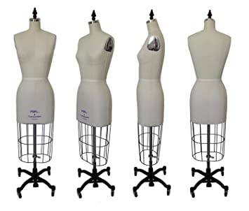 Amazon.com: PGM Dress Form Industry Grade Dressmaker Dress Form ...