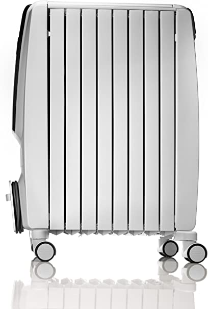 De'Longhi Dragon 4 TRD41025T Oil Filled Radiator - White