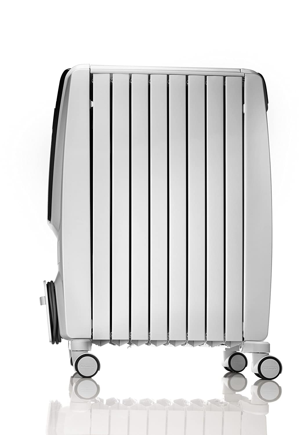 DeLonghi Dragon 4 Oil Filled Radiator with Timer TRD4 0615T, 1.5 KW - White by DeLonghi: Amazon.es: Hogar