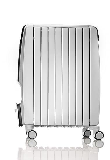 Delonghi Dragón-4 TRD4 1025T radiador de aceite Lleno de temporizador, 2,5 kilovatio - Blanco (Producto con enchufe de UK): Amazon.es: Hogar