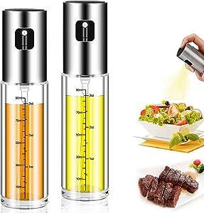 Olive Oil Sprayer Dispenser for Cooking, Food-Grade Glass Oil Spray Bottle Oil Dispenser,Olive Oil Sprayer¡