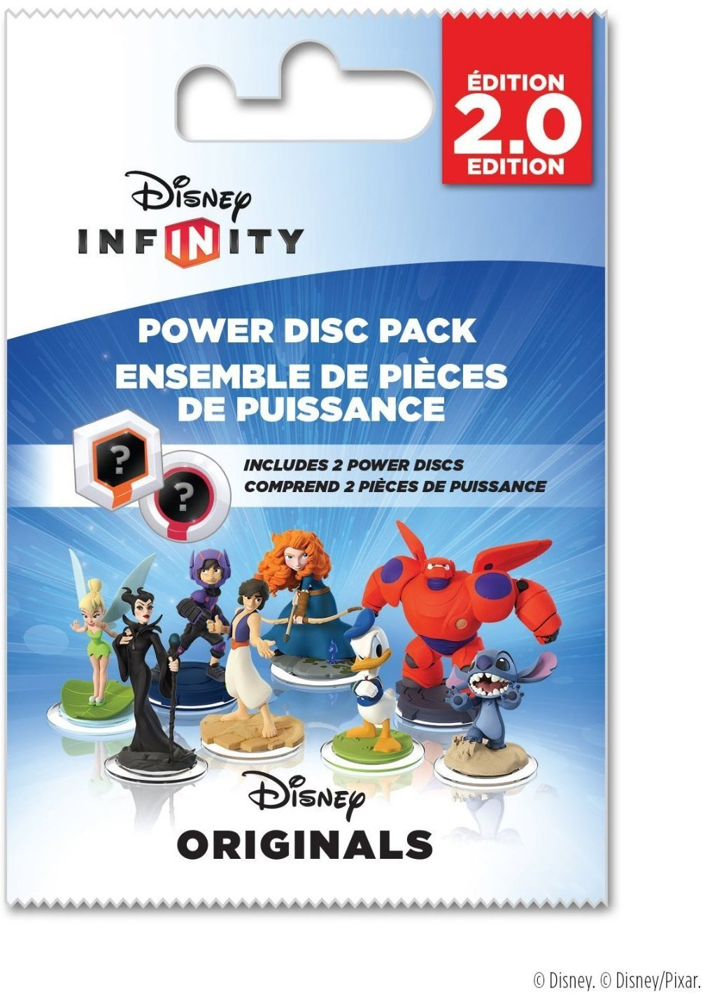 (Lot of 4) Disney Infinity (2.0 Edition): Power Disc Pack