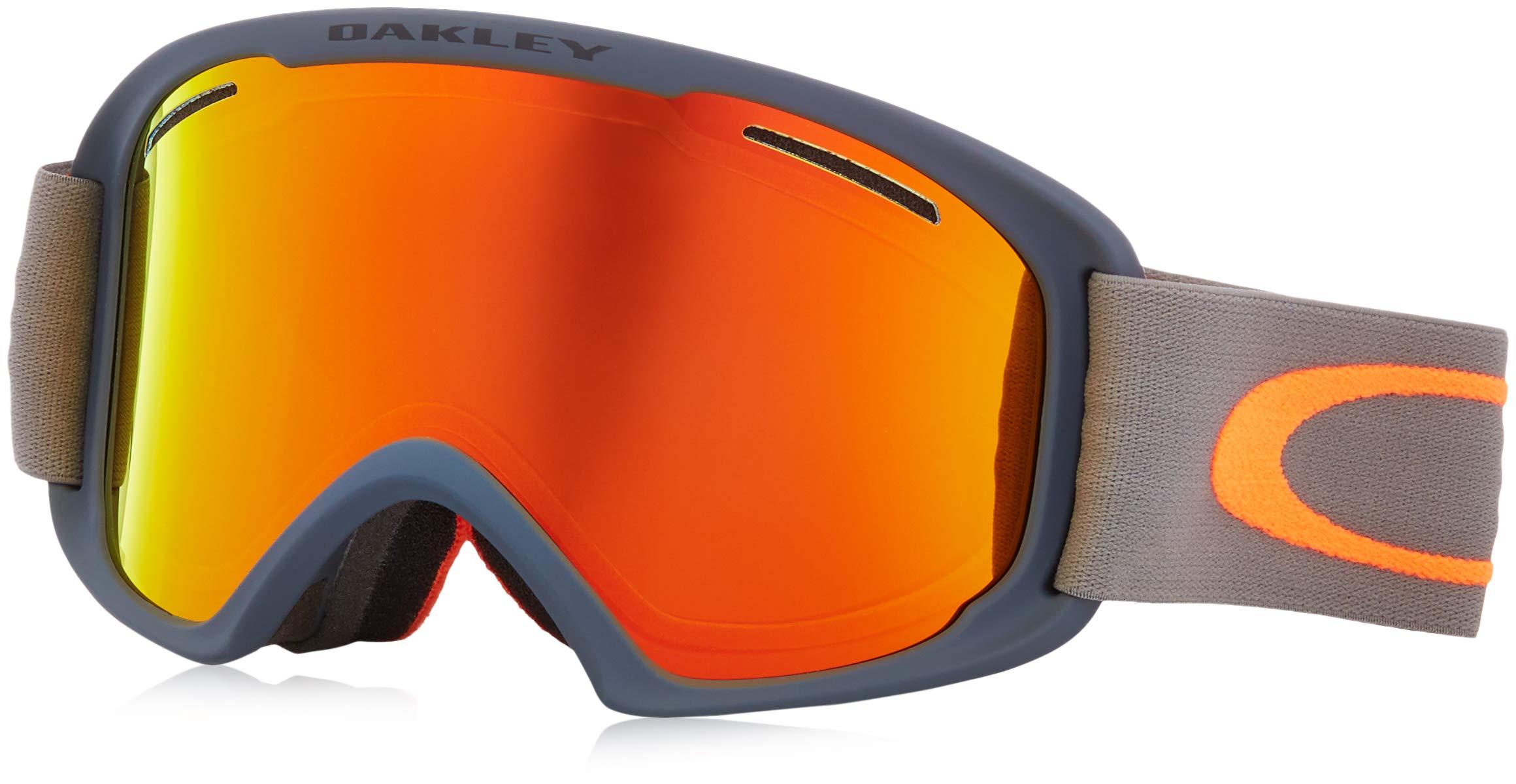 Oakley O Frame 2.0 Snow Goggle, Forged Iron Brush, Large