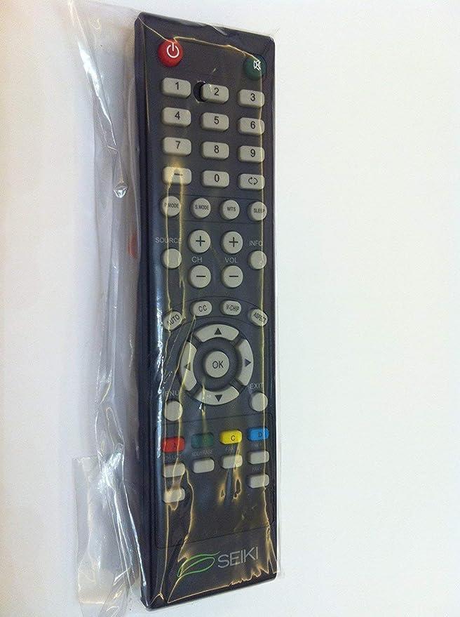 Seiki SEIKI - Mando a distancia para televisores SEIKI LC-32GC12F LC-46G68 SC552GS SC324FB SC32HT04 SE32HS01 SE65FY18 SE60GY24 (reacondicionado certificado): Amazon.es: Electrónica