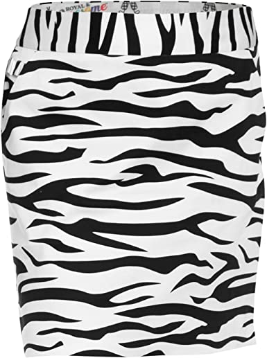 Royal & Awesome Zebra to Ze-Bar - Falda-pantalón de Golf para ...