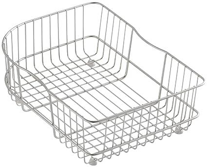 Amazon Com Kohler K 6521 St Wire Rinse Basket Stainless Steel