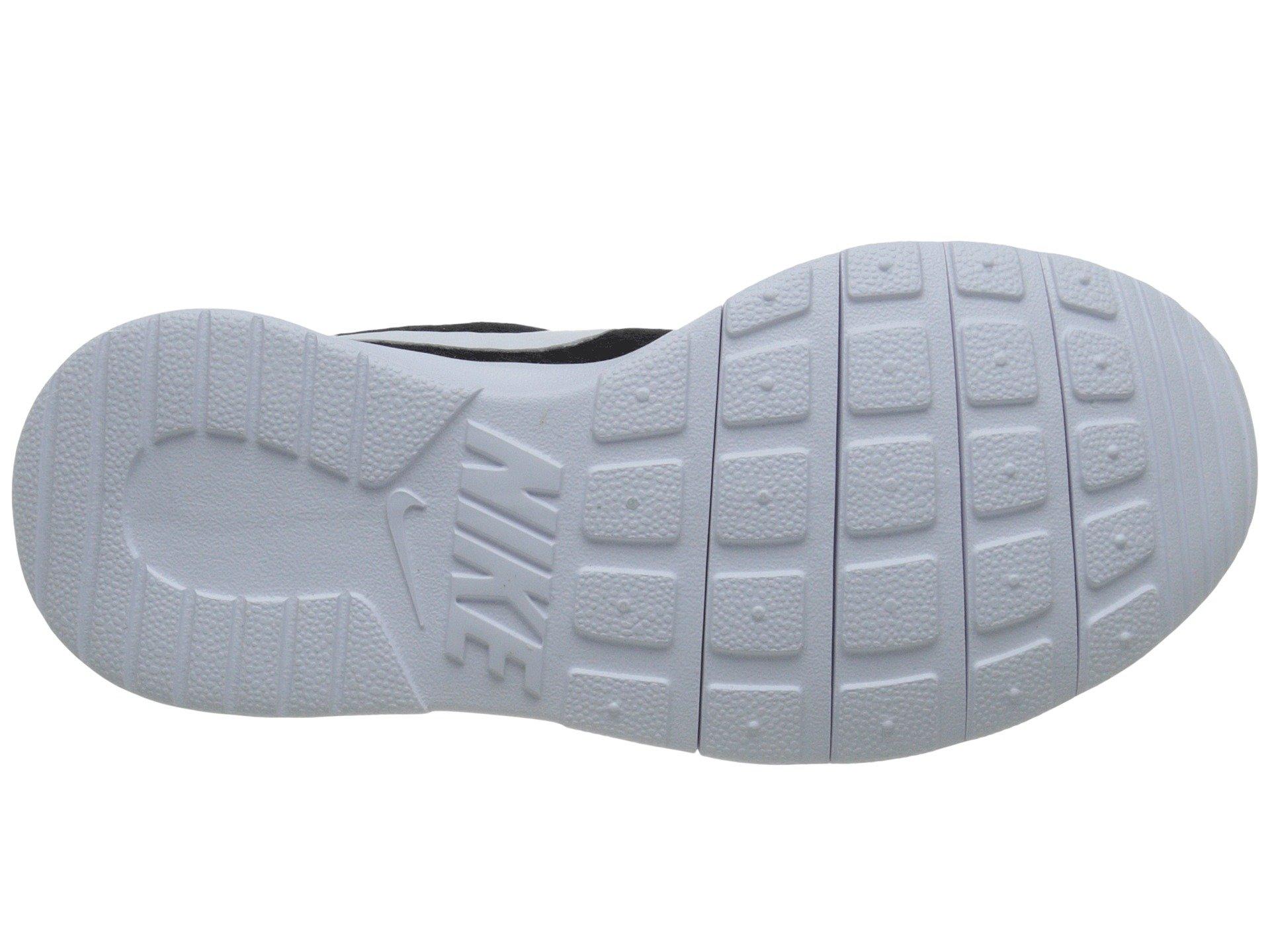 Nike Boy's Tanjun Running Sneaker Black/White-White 1.5 by Nike (Image #4)