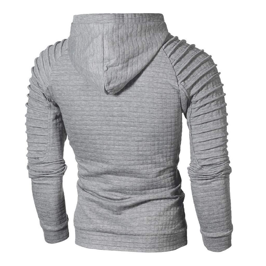 Luckycat Herren schwarzer Pullover Shirt Herren