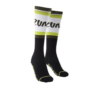 Zumba Fitness® R-R-Remix Cut N Paste - Calcetines largos, Mujer, color morado/negro, talla única, 1 Pack: Amazon.es: Deportes y aire libre