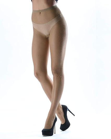 17f08aa484d Amazon.com  Levante Levante Women s Mini Net Fishnet Stockings Naturel  RETINA40 3X 4X  Clothing