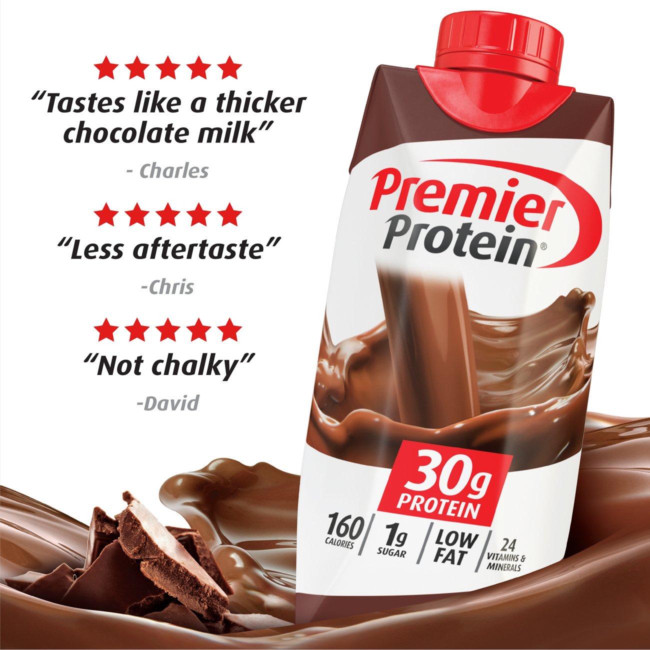 Amazon.com: Premier Protein 30g Protein Shake (Pack of 4 x 11 fl ...