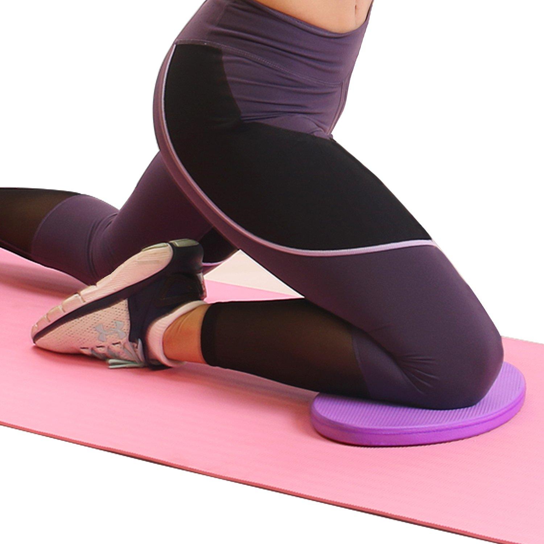 Soporte para Rodillas y Codos para Ejercicios de Yoga y Pilates Almohadilla de Apoyo de Rodilla de Espuma Eco TPE de 2 cm de Espesor 5BILLION FITNESS Coj/ín de Rodilla para Yoga