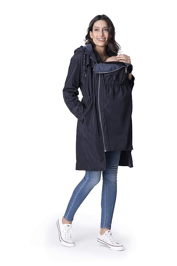 Amazon.com: Seraphine - Abrigo impermeable para mujer: Clothing