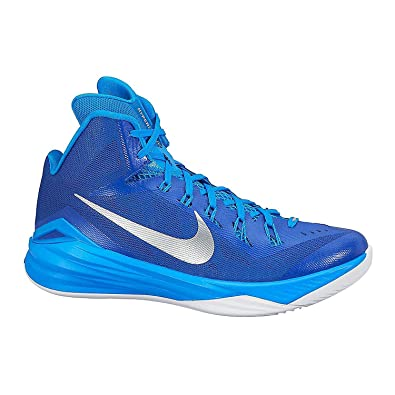 the best attitude a23b3 9de48 Amazon.com   NIKE Women s Hyperdunk 2014 TB Basketball Shoes 11 Royal, Silver  Metallic, Blue   Basketball