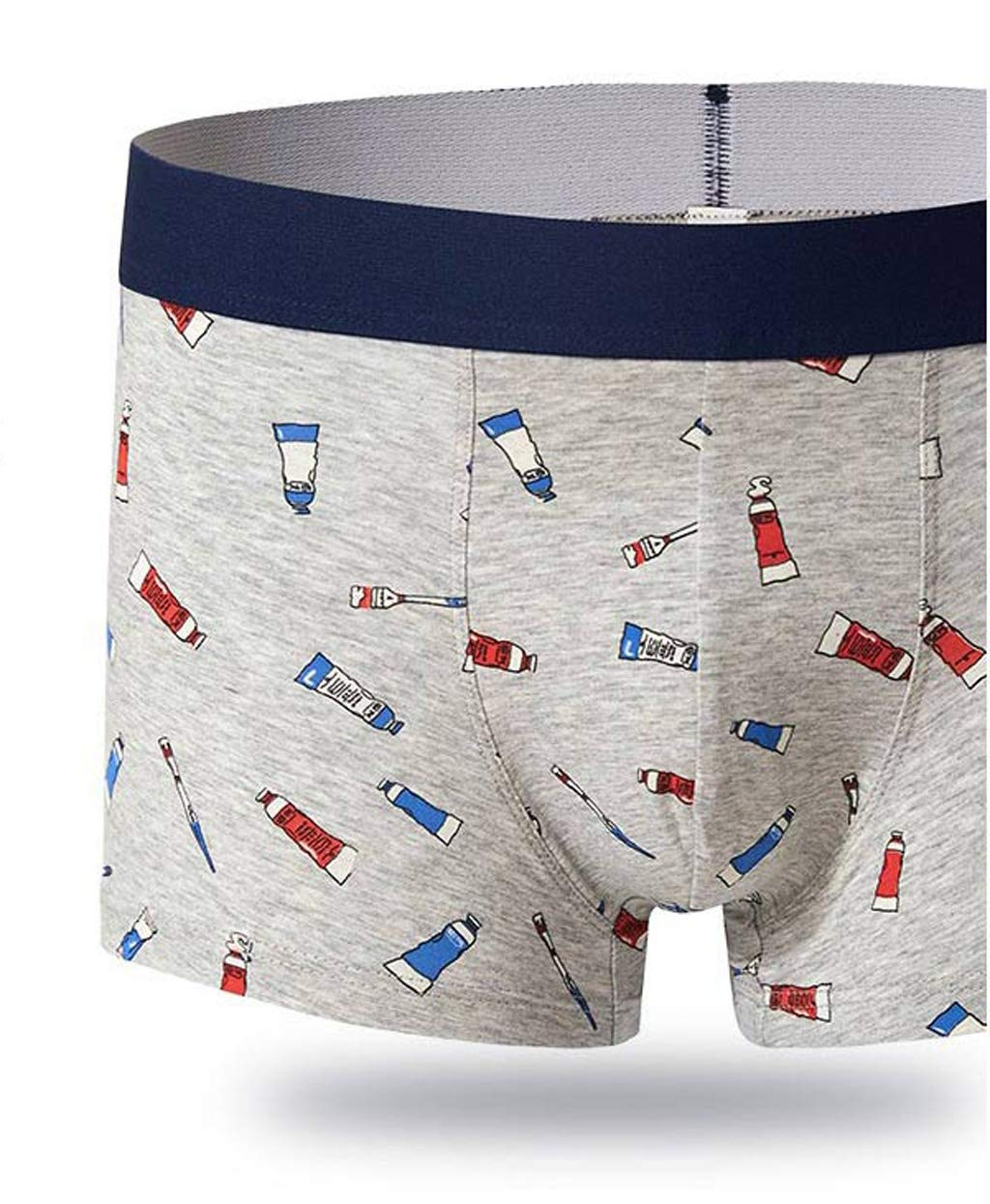 ST apparel Ropa Interior de Hombre de algodón de Dibujos Animados Boxeadores Transpirables Ropa Interior de Hombre Joven Pantalones japoneses de Cintura ...