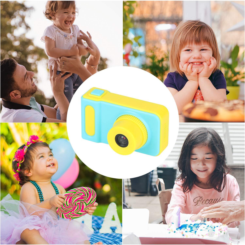 LOXROZ Kids Digital Camera Mini 2 Inch Screen Children's Digital Camera with Card Reader & 16G Micro SD Card (Blue) by LOXROZ (Image #7)