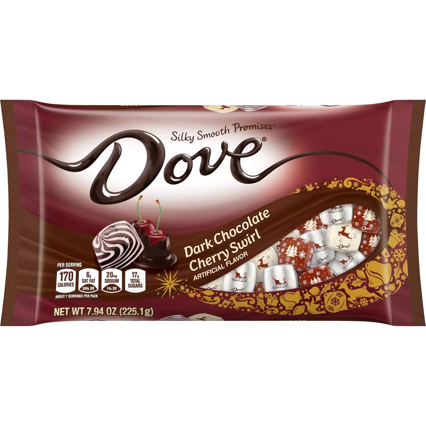 Dove Dark Chocolate Cherry - 7.94oz