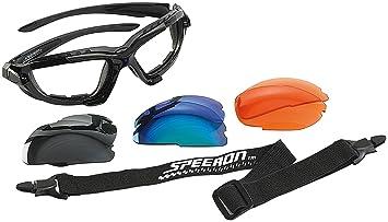 Speeron Sport-Sonnenbrille mit Kopfband und 3 Wechsel-Glsern 0LdOAkQl