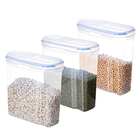 SAVORLIVING Contenedor de Alimentos Plastico Contenedores de ...