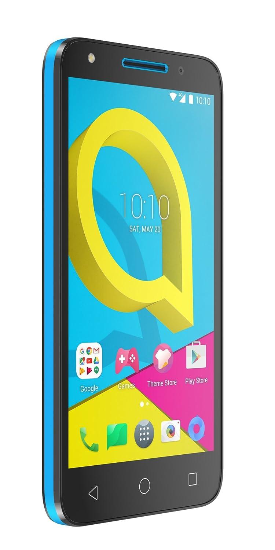 Alcatel U5 4G (4 núcleos, 8MPx, 8Gb, Dual SIM), Azul y Negro
